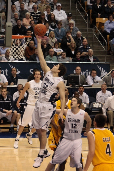 Fredette during his BYU days (Levlavr/Wikimedia Commons).
